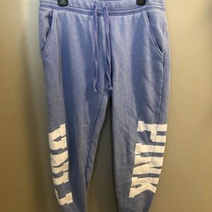 Pink Victoria Secret sweat pants